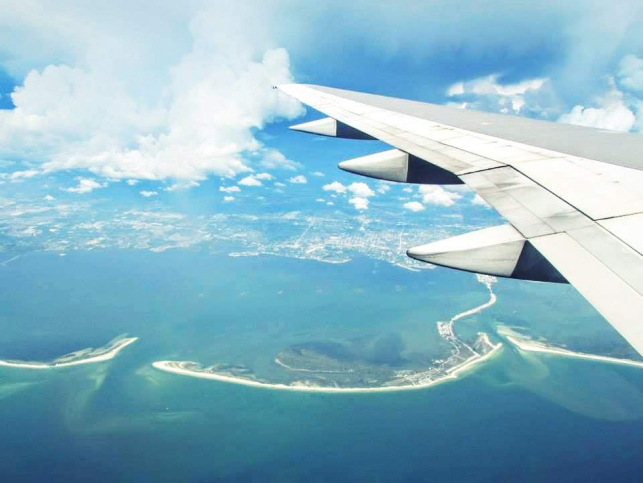 Hibiscus & Nomada : Florida - Airplane View