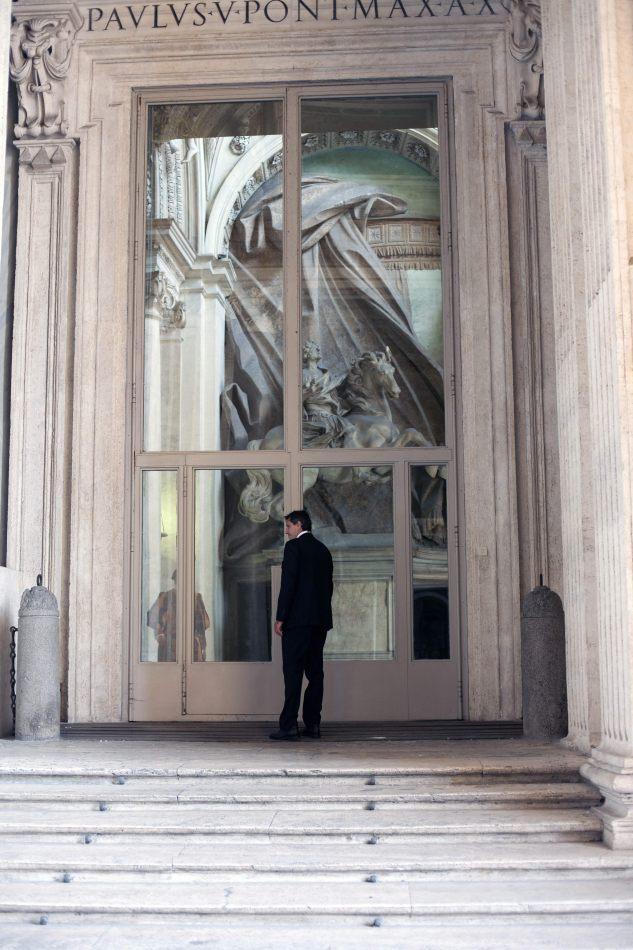Anthony Ellis Photography: Locked - Black Suits at Palace Doors