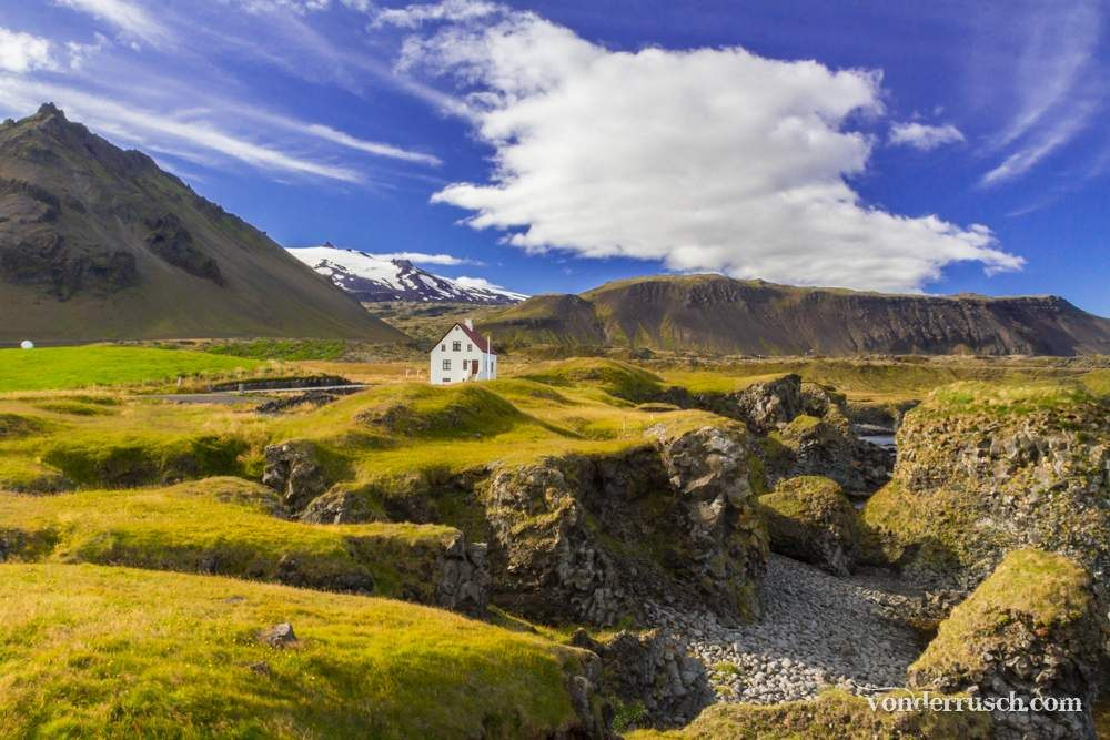 Lonely House Iceland