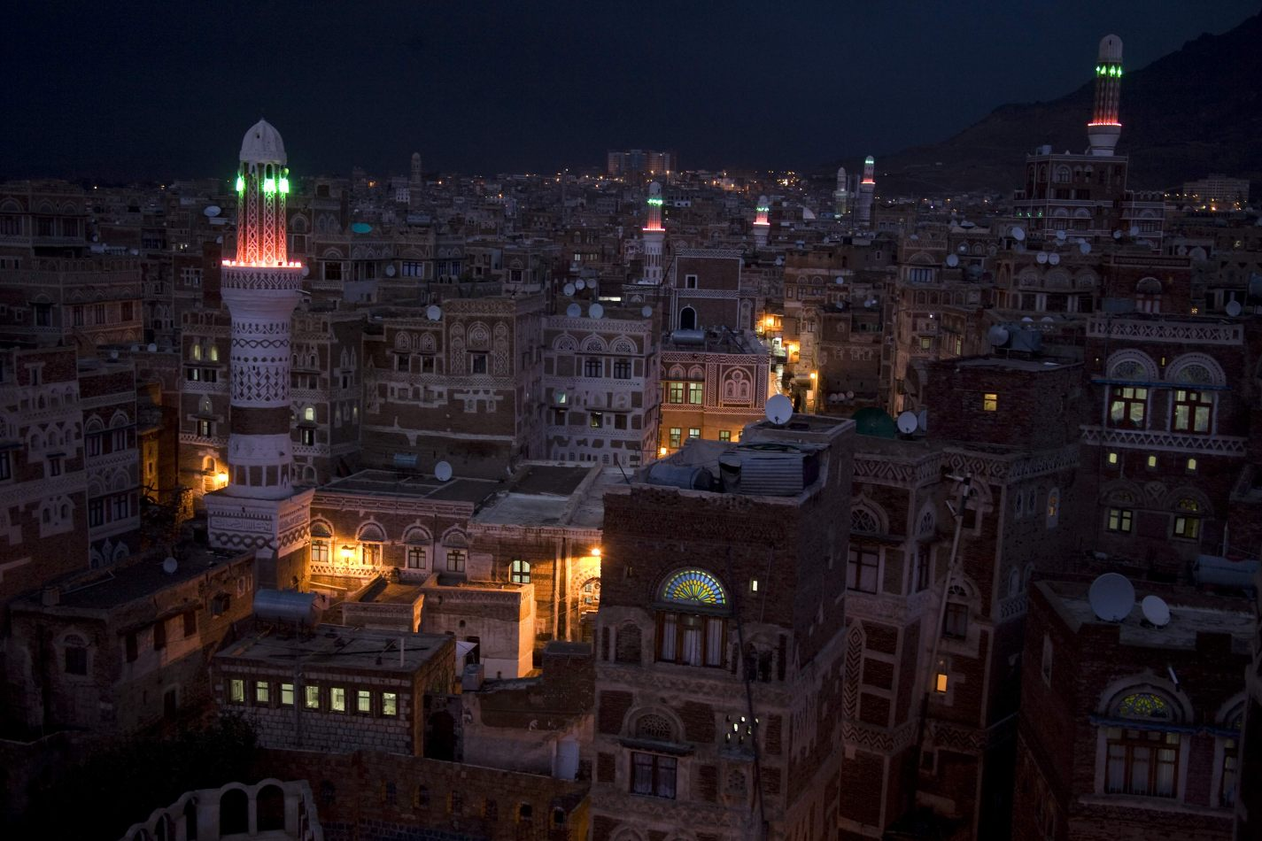 Anthony Ellis Photography: Room with a View - An Amber Glow from the Medina