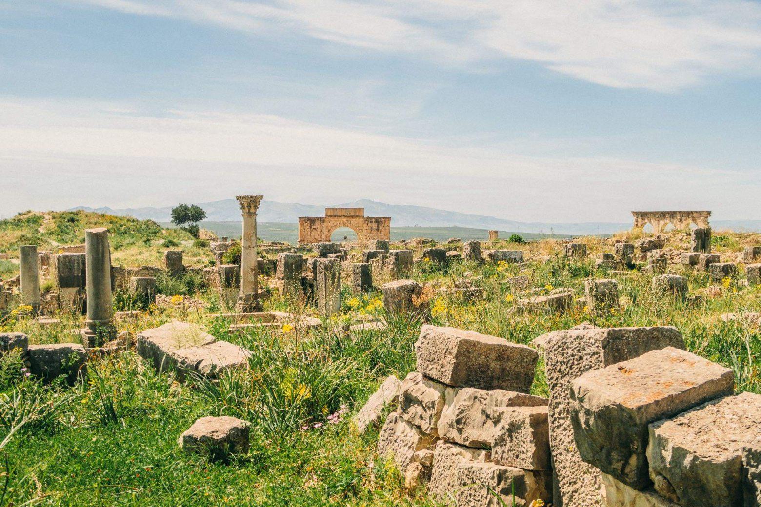 Die antike St� tte von Volubilis