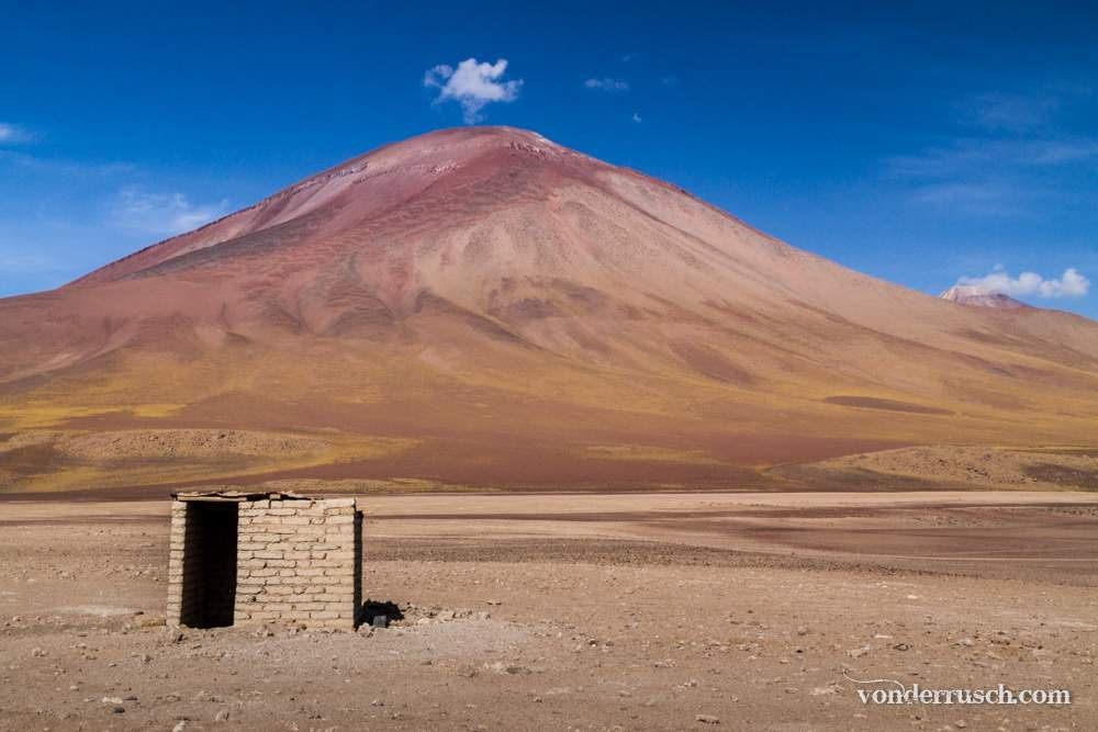 Cloud Over Volcano Bolivia