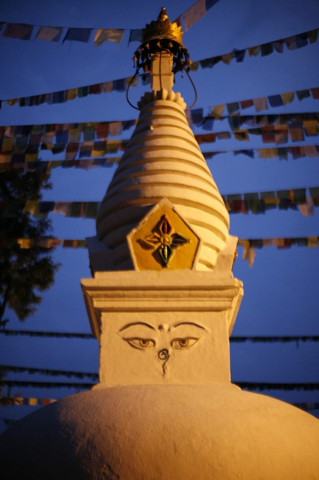 Anthony Ellis Photography: Transition - Night Stupa