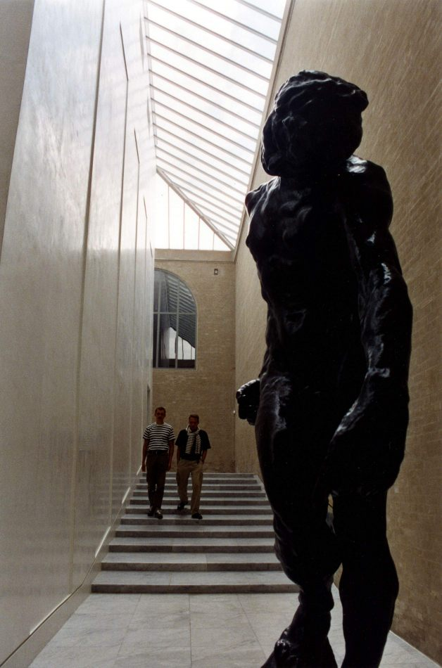 Anthony Ellis Photography: Silent Afternoons - Stripes and a Rodin