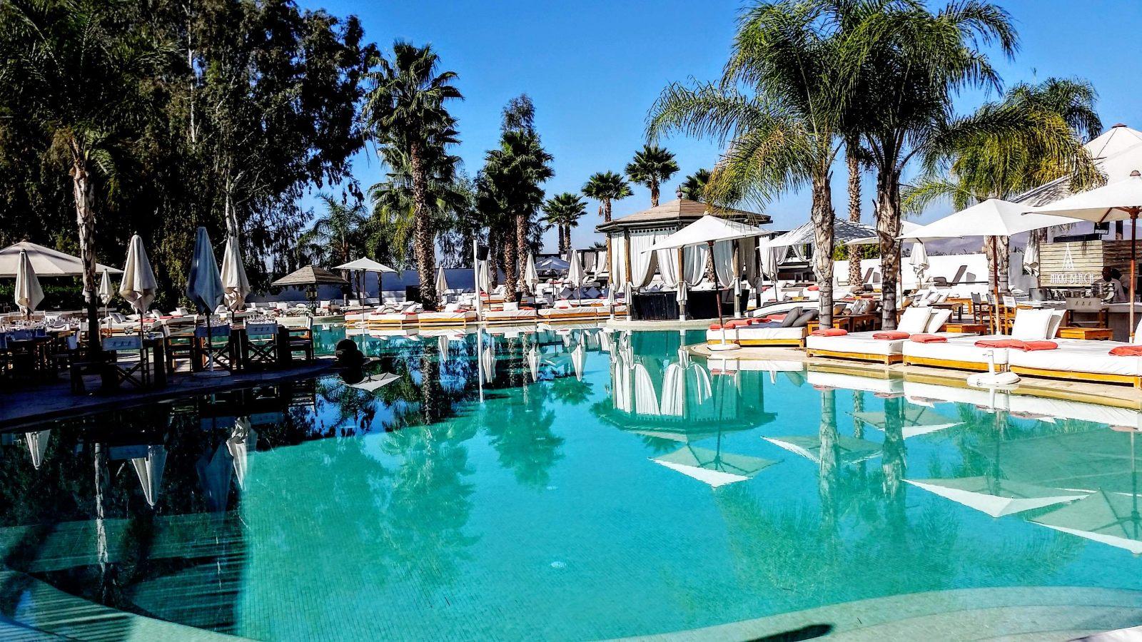 Hibiscus & Nomada : Marrakech - Nikki Beach