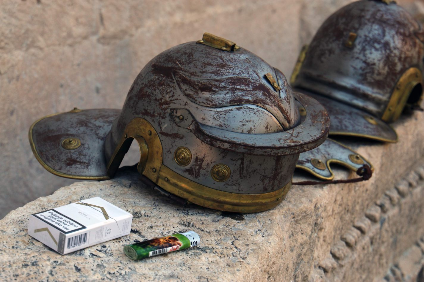 Anthony Ellis Photography: Pine Needles and Broken Tiles - Cigarettes and Plastic Helmets