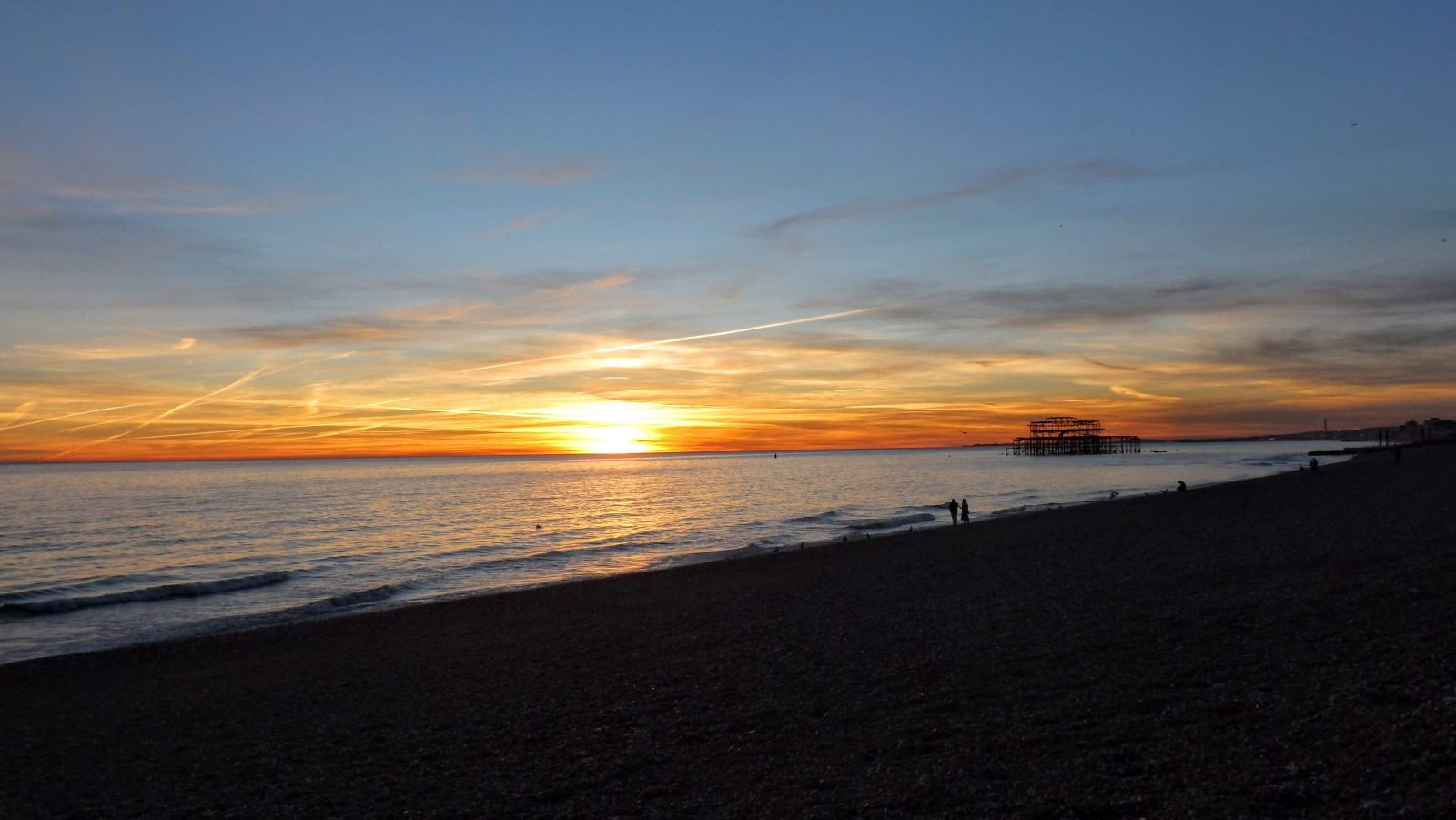 Hibiscus & Nomada : Brighton - Seafront Sunset