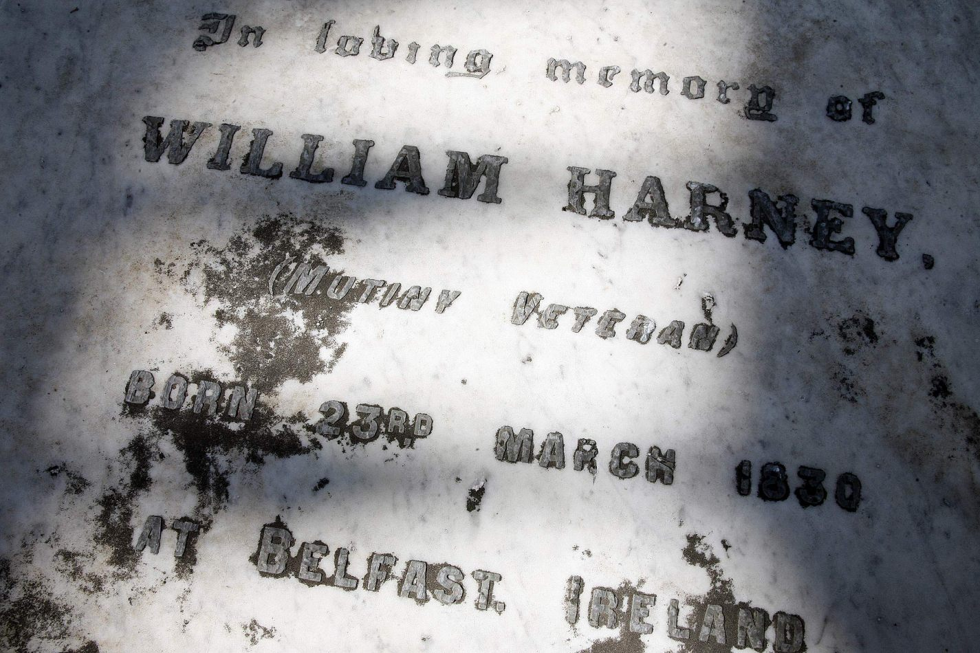 Anthony Ellis Photography: Waterline - William Harney (Mutiny Veteran)