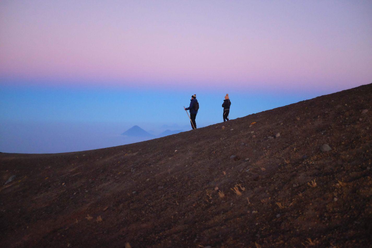 Hibiscus & Nomada : - - Acatenango Volcano