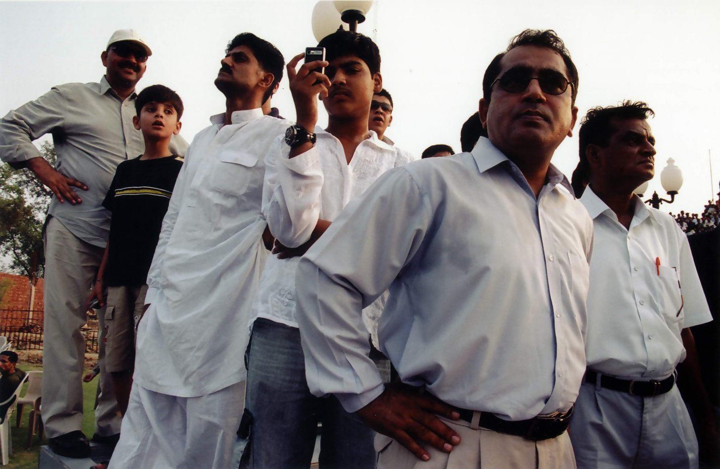 Anthony Ellis Photography: Zindabad - Punjabis Watch the Closing of the Hindustani Gates