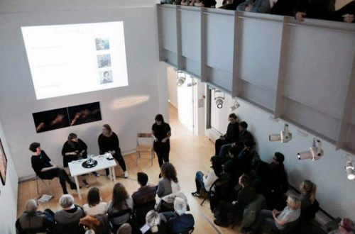 The Fear Panel Talk at Gallery of Photography Ireland with the Old Girl s Club