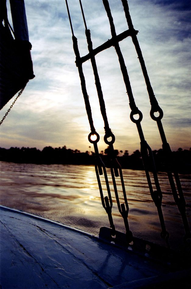 Anthony Ellis Photography: Submit to the Will - Sun Sets Through Rigging
