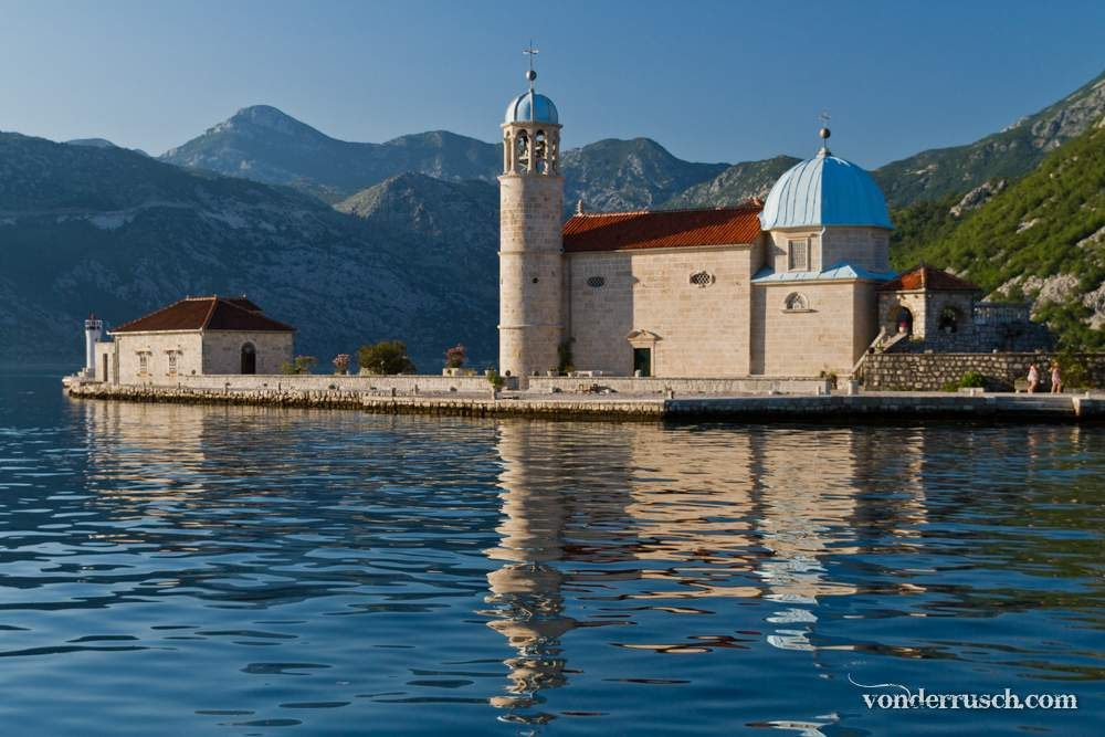 Lady of the Rocks     Bay of Kotor Montenegro