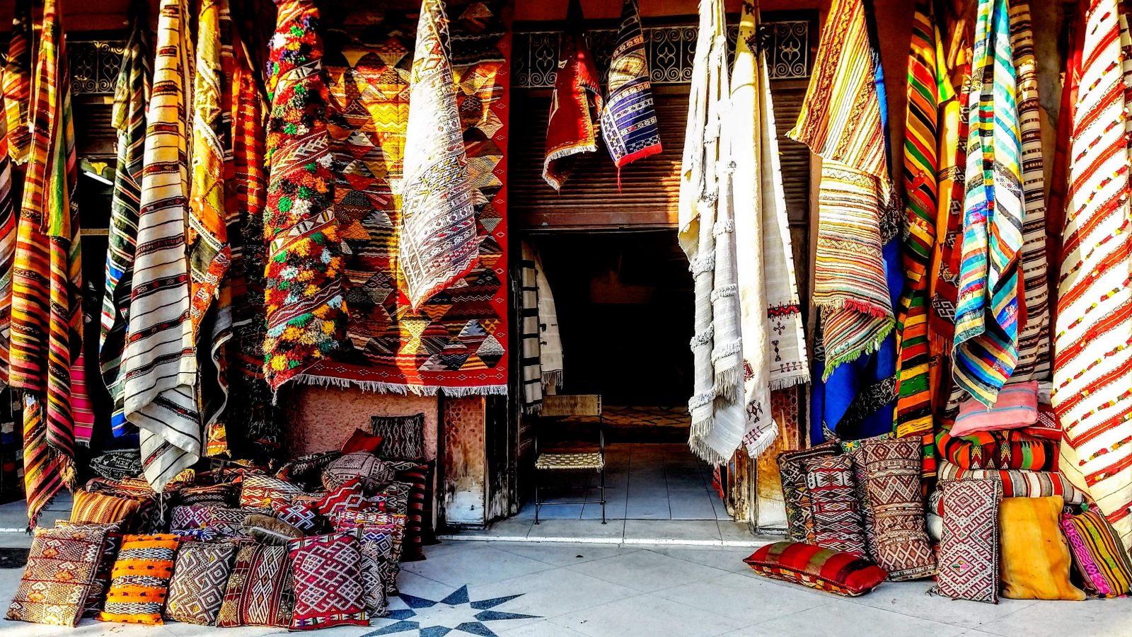 Hibiscus & Nomada : Marrakech - Medina Souk