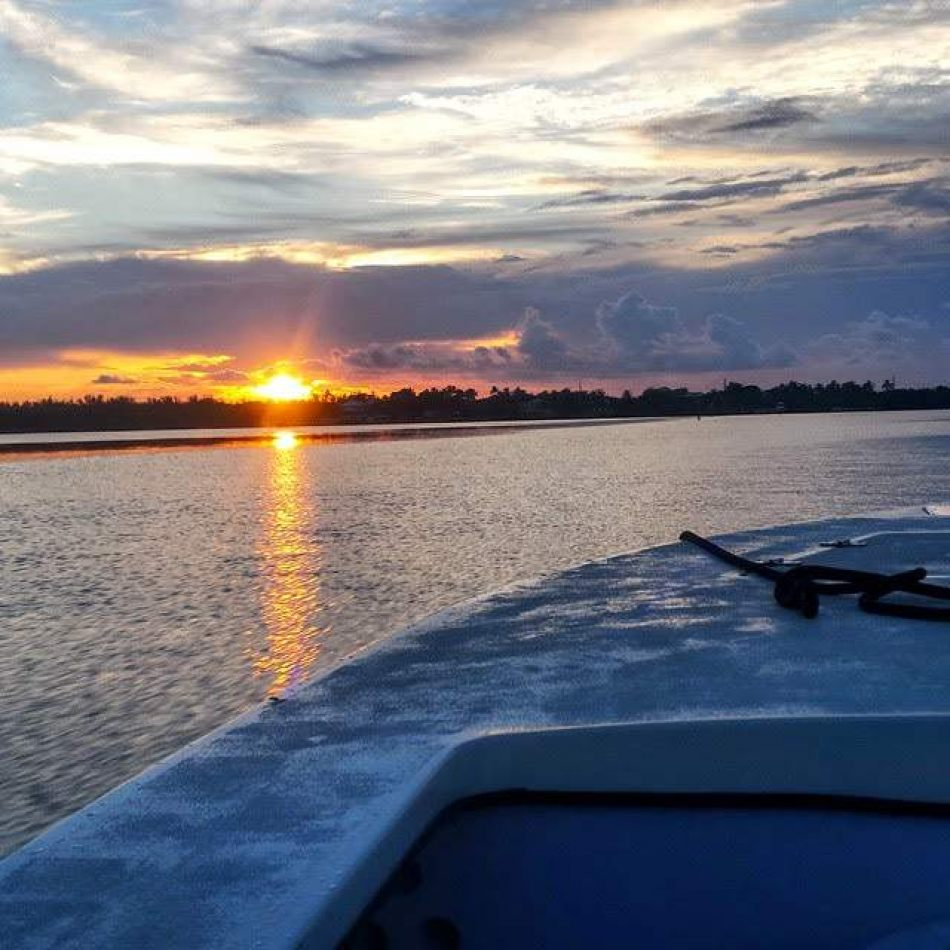 Hibiscus & Nomada : Florida - Sunset Boat Tour