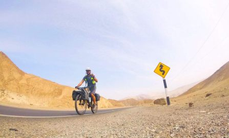 From Chile to Canada: Adrian's 14,500 Kms Bike Ride