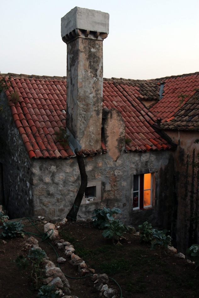 Anthony Ellis Photography: Pine Needles and Broken Tiles - The Chimney with a Cottage