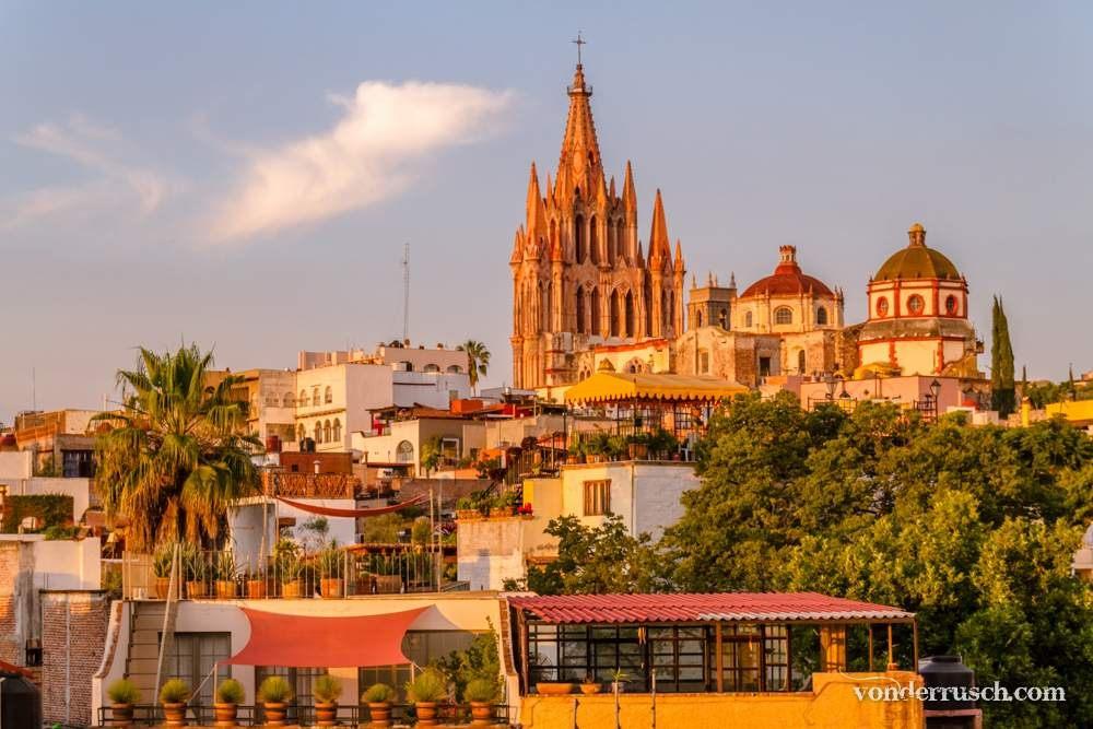Parroquia de San Miguel Arc� ngel Mexico