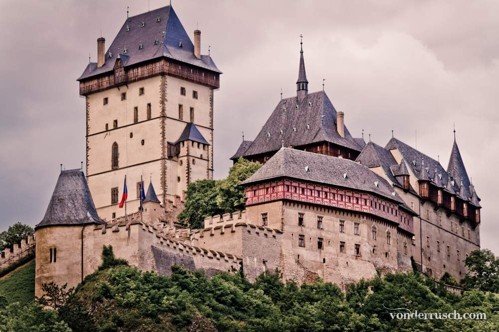 Karl� tejn Castle Czech Republic