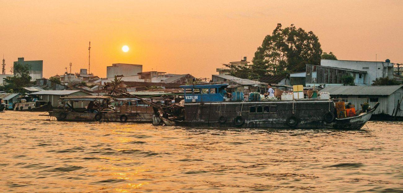 Mekongdelta Ein Tag wie jeder andere