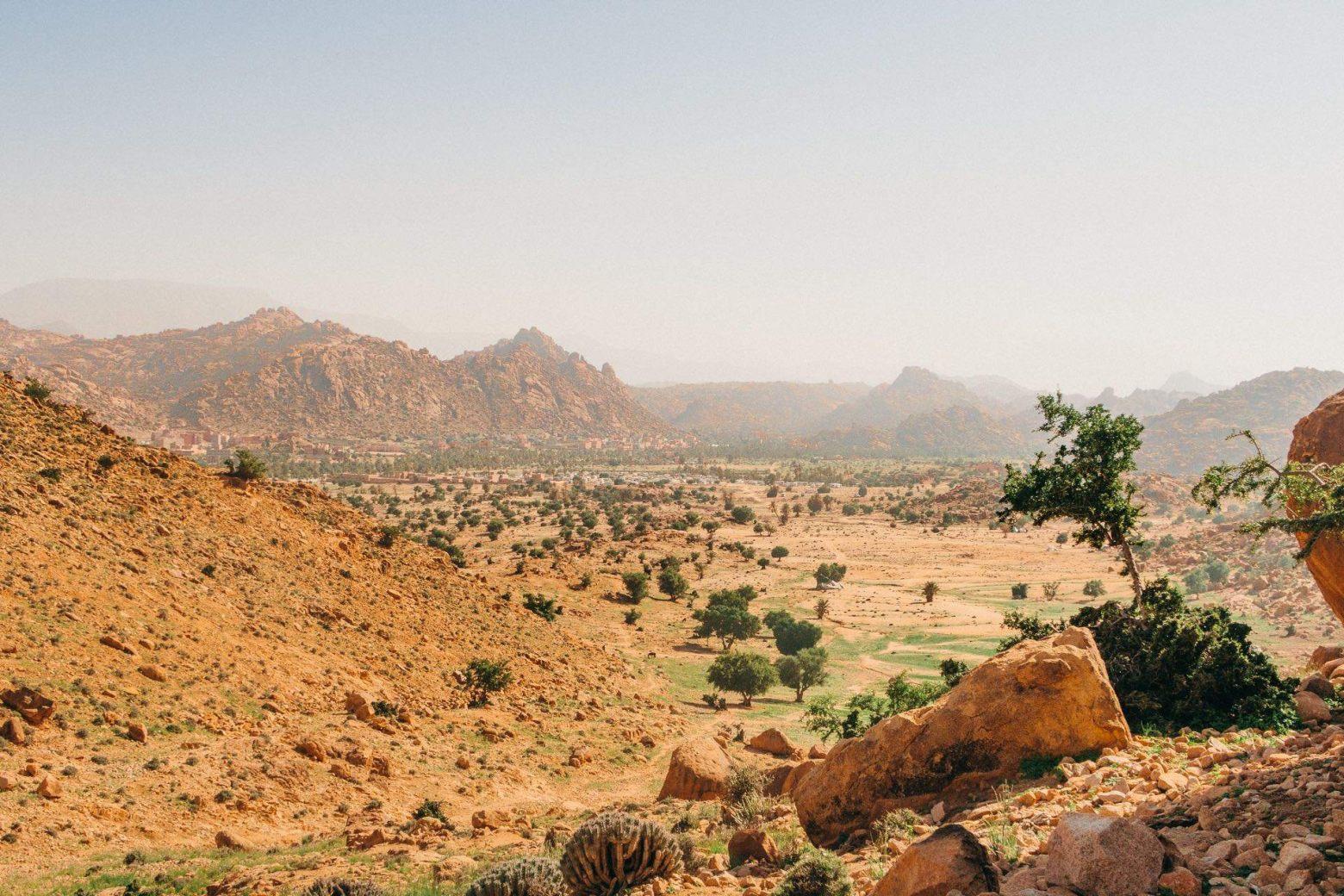 Tafraoute im Antiatlas Gebirge