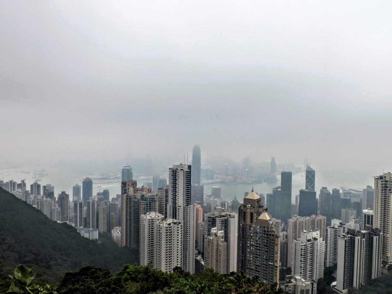 Hibiscus & Nomada : Hong Kong - Victoria Peak