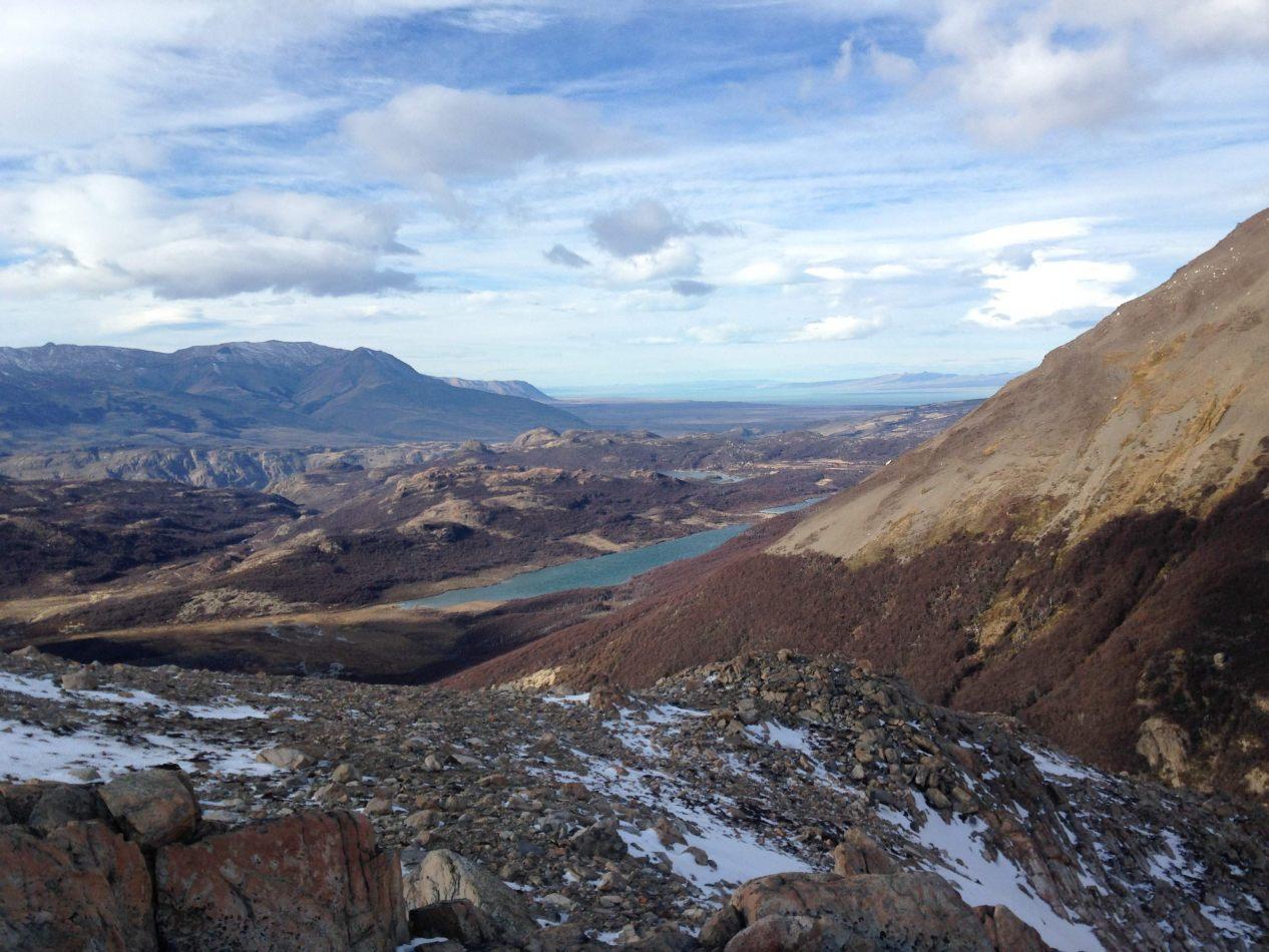 Hibiscus & Nomada : El Chalten - Panoramic view of Lagunas Madre e Hija, El Chaltén