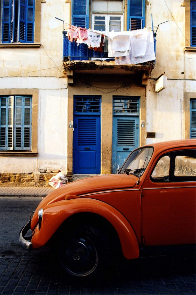 Anthony Ellis Photography: Ruins of the Missing - Orange Beetle Blue Doors