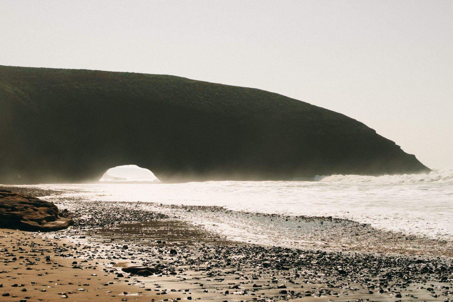 Küstenlandschaft von Legzira