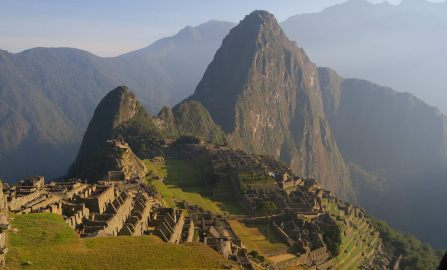 Peru: Inca Ruins On The Ascent to Machu Picchu