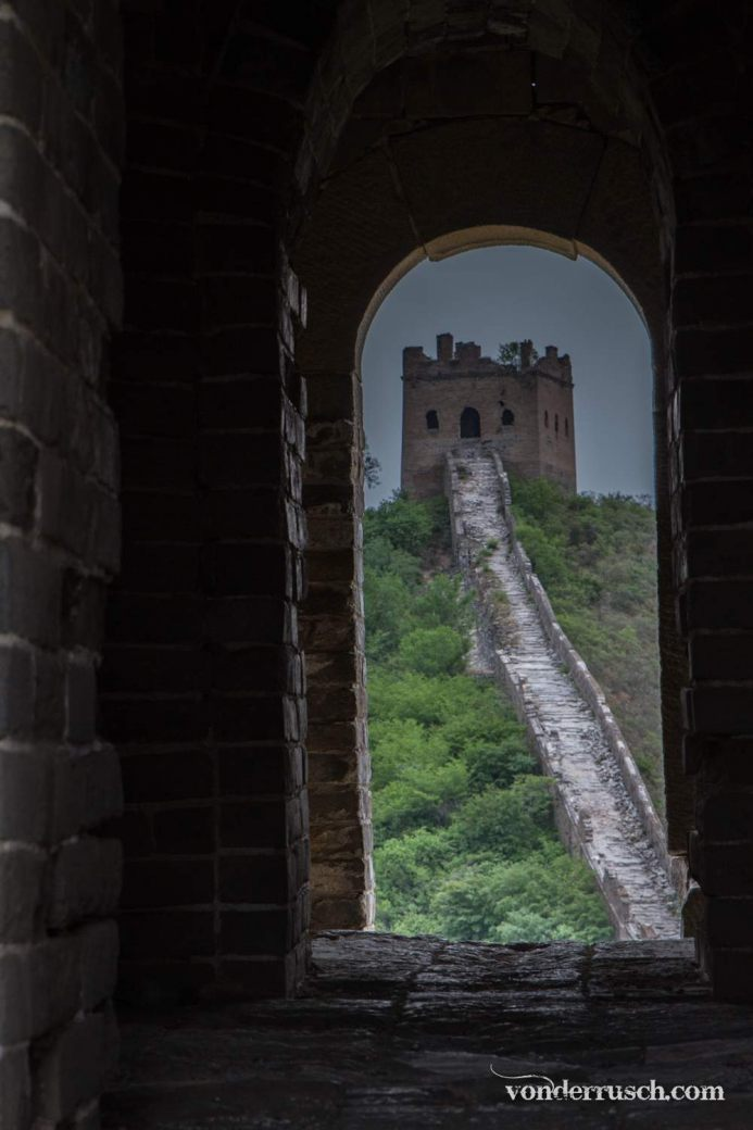 Great Wall Window     Jinshanling Section China