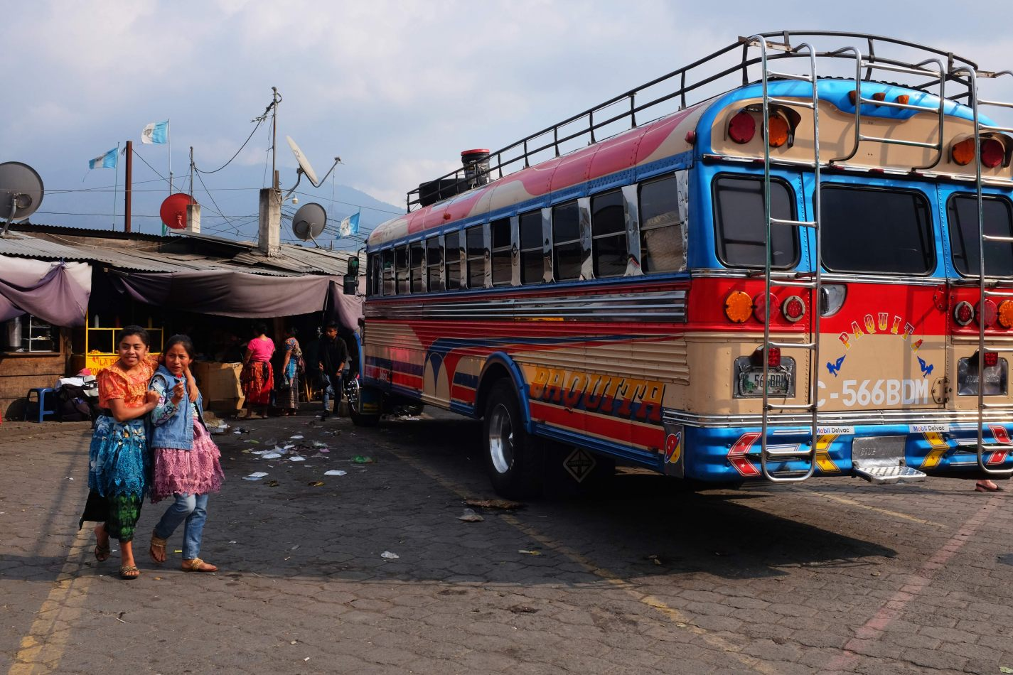 Hibiscus & Nomada : - - Chicken Bus