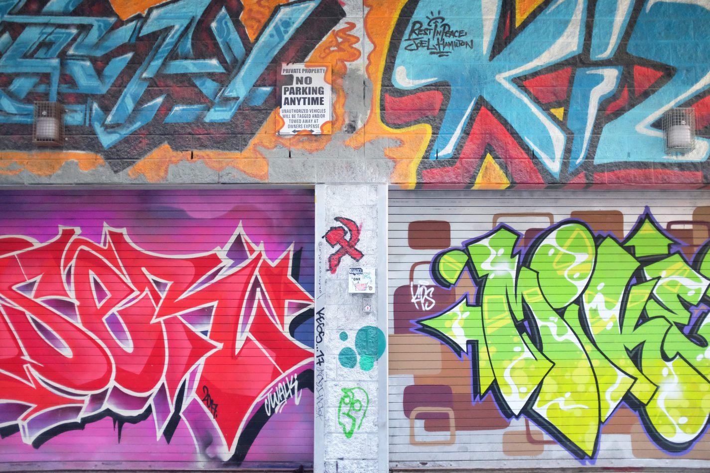 Hibiscus & Nomada : - - Graffiti Alley