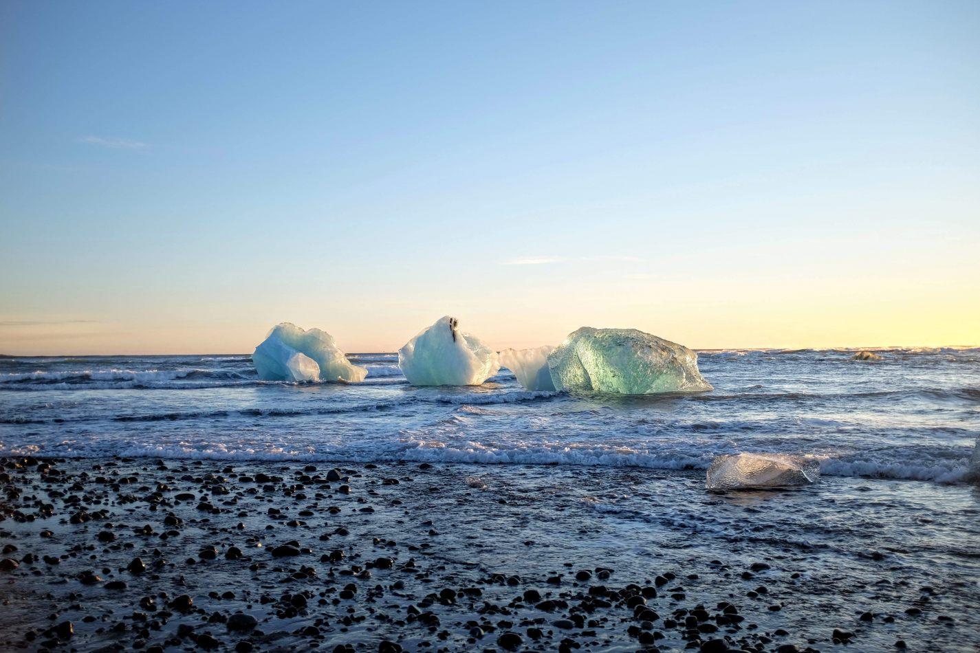 Hibiscus & Nomada : - - Diamond Beach Icebergs
