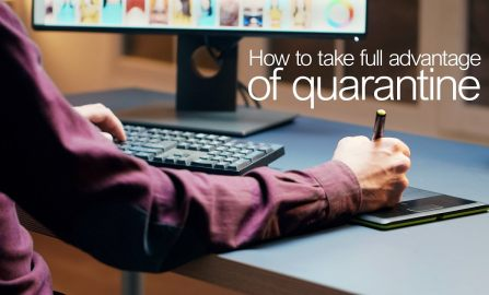 How to take full advantage of quarantine a step by step guide for photographers and videographers.