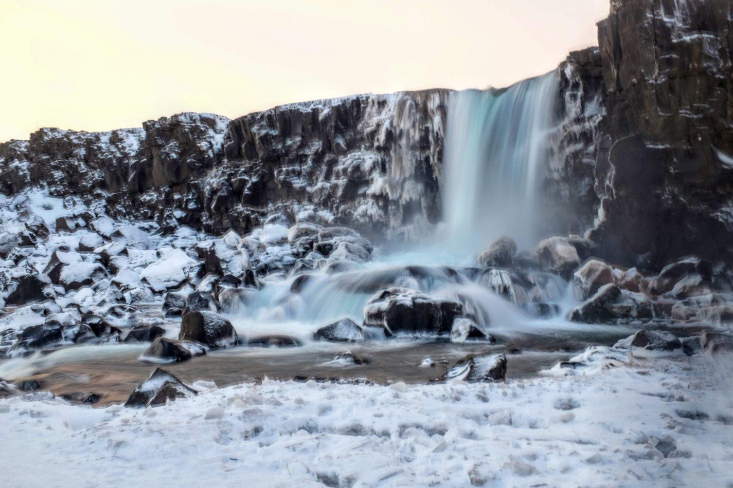 Hibiscus & Nomada : - - Öxarárfoss Waterfalls