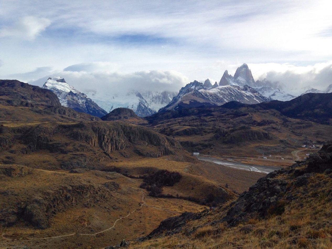 Hibiscus & Nomada : El Chalten - Los Cóndores and Las Águilas viewpoint, El Chaltén