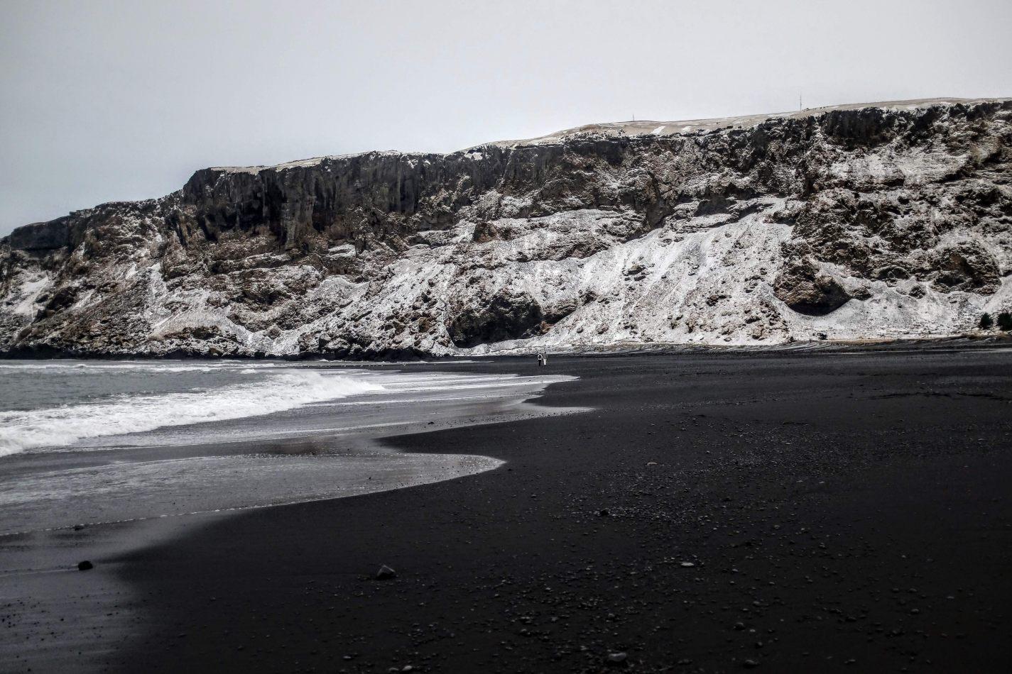 Hibiscus & Nomada : - - Black Sand Beach
