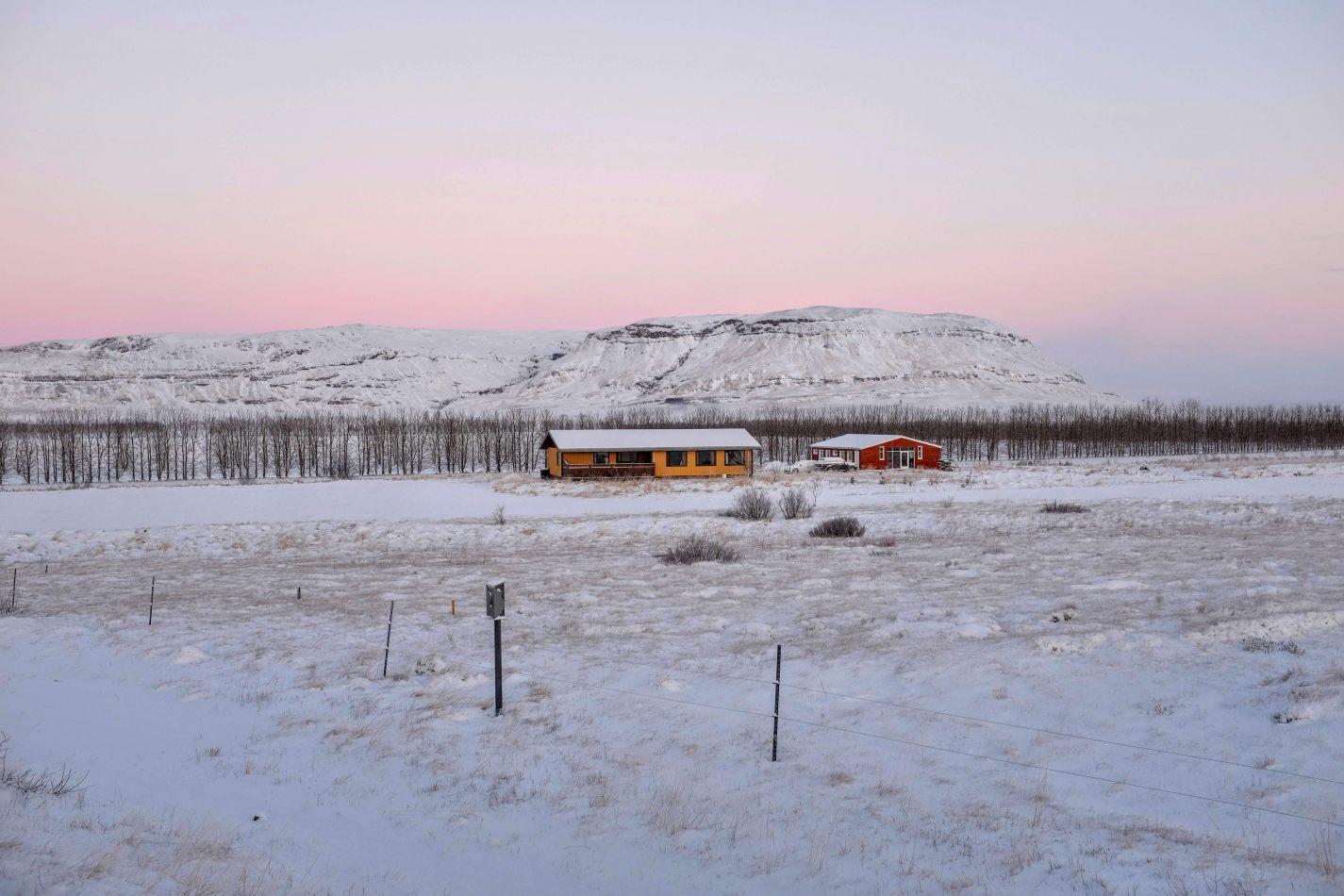 Hibiscus & Nomada : - - Sunrise in Iceland