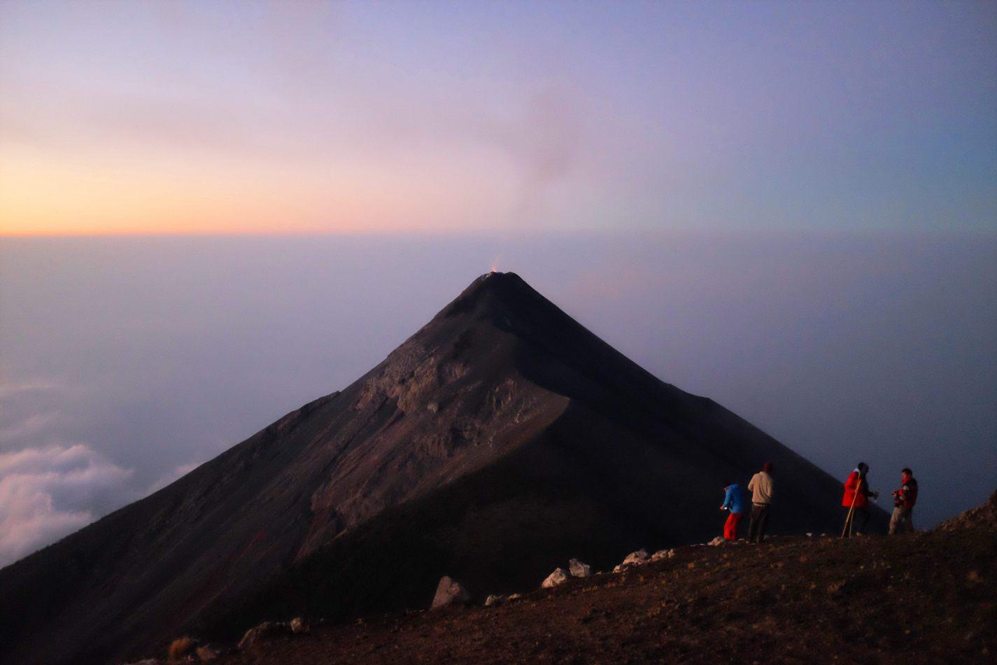 Hibiscus & Nomada : - - Fuego Volcano