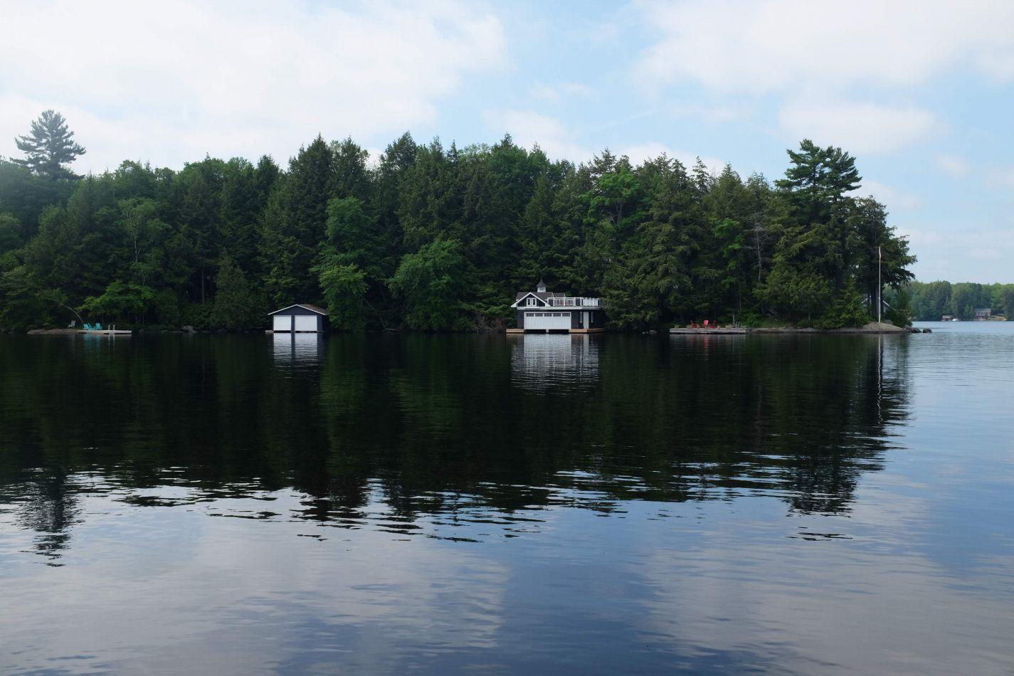 Hibiscus & Nomada : - - Lake Muskoka
