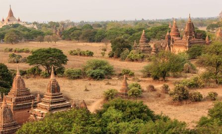 Myanmar Motorbike Rides and Monks of Bagan